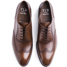TLB Wingtip Adelaide Vegano Brown