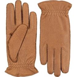 Hestra handsydd handske kashmirfodrad peccary kork