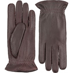 Hestra handsydd handske kashmirfodrad peccary mellanbrun
