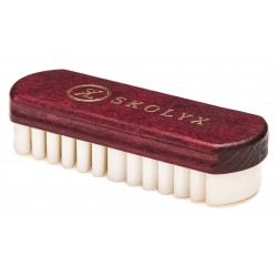 Crepe brush for suede and nubuck