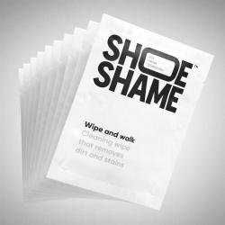 Shoe Shame Wipe and Walk rengöringsservetter