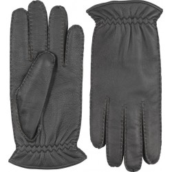 Hestra handsydd handske kashmirfodrad älg mellanbrun