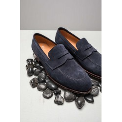 TLB Penny Loafer Blue Suede GMTO