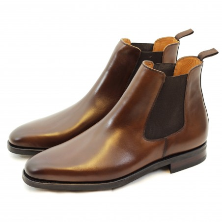 Yanko chelsea boot dark brown