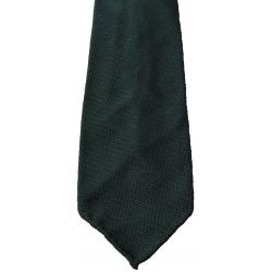 Dark blue tie in Grenadine 4-fold