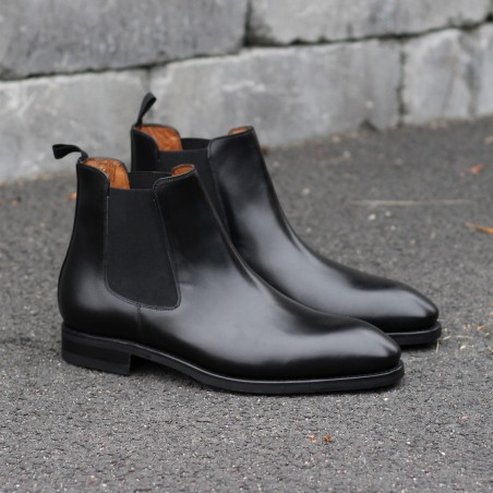 Yanko Chelsea boot black leather