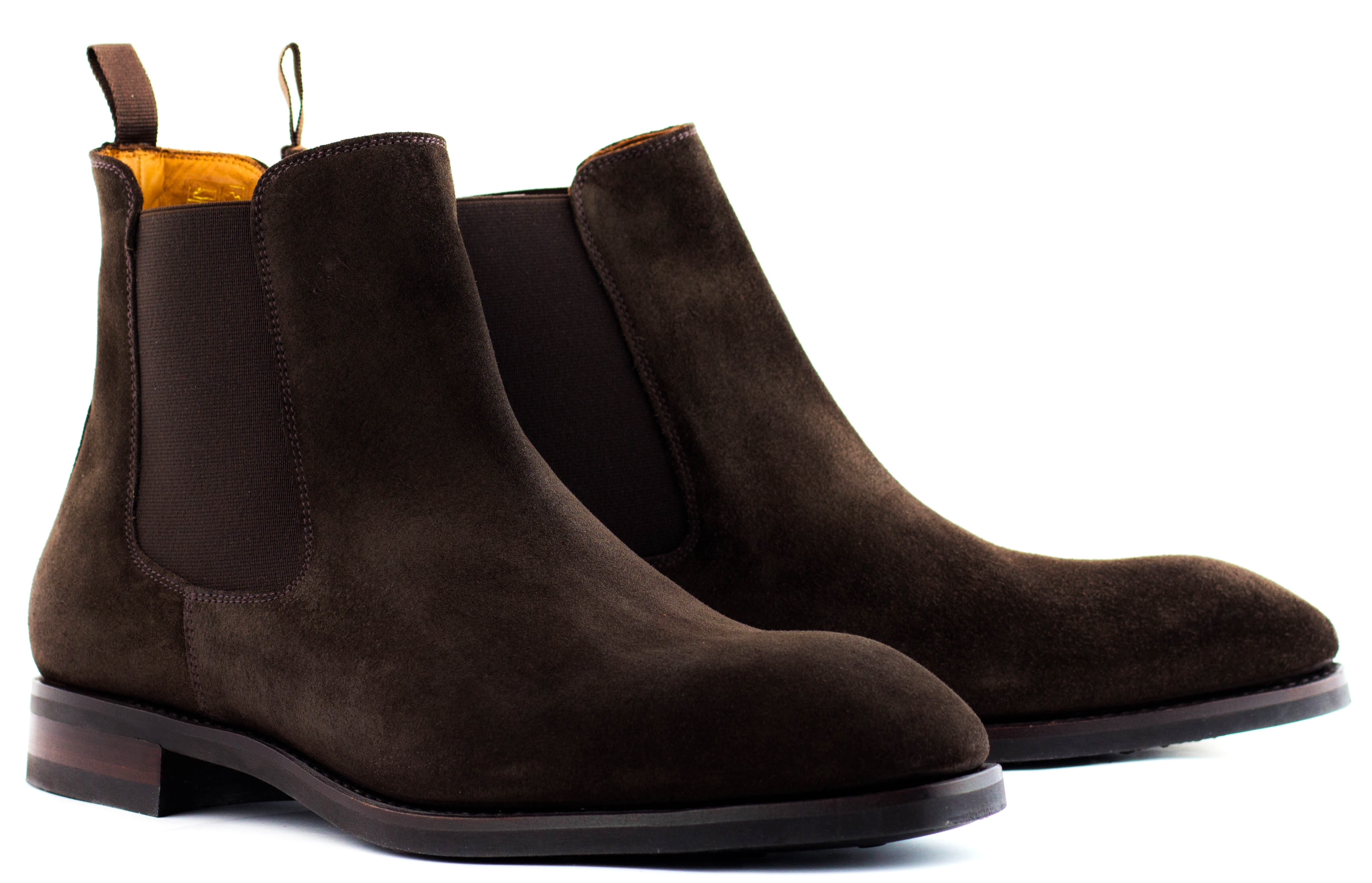 28aa562385e Chelsea boot dark brown