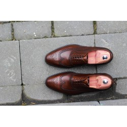 Wingtip dark brown last 915