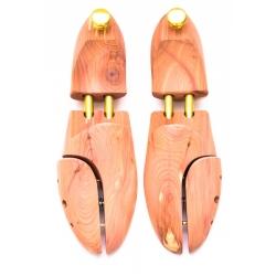 Shoe trees in cedar wood