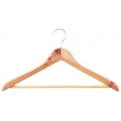 Cedar shirt hanger