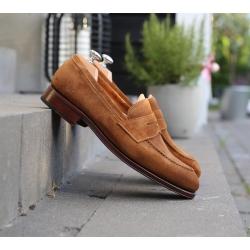 Penny loafer ljusbrun mocka