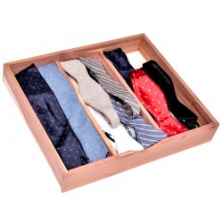Box for ties and socks in...