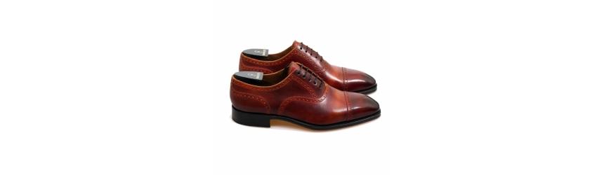 Handmålade skor